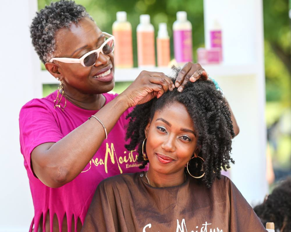 Curlfest 2018 hair products