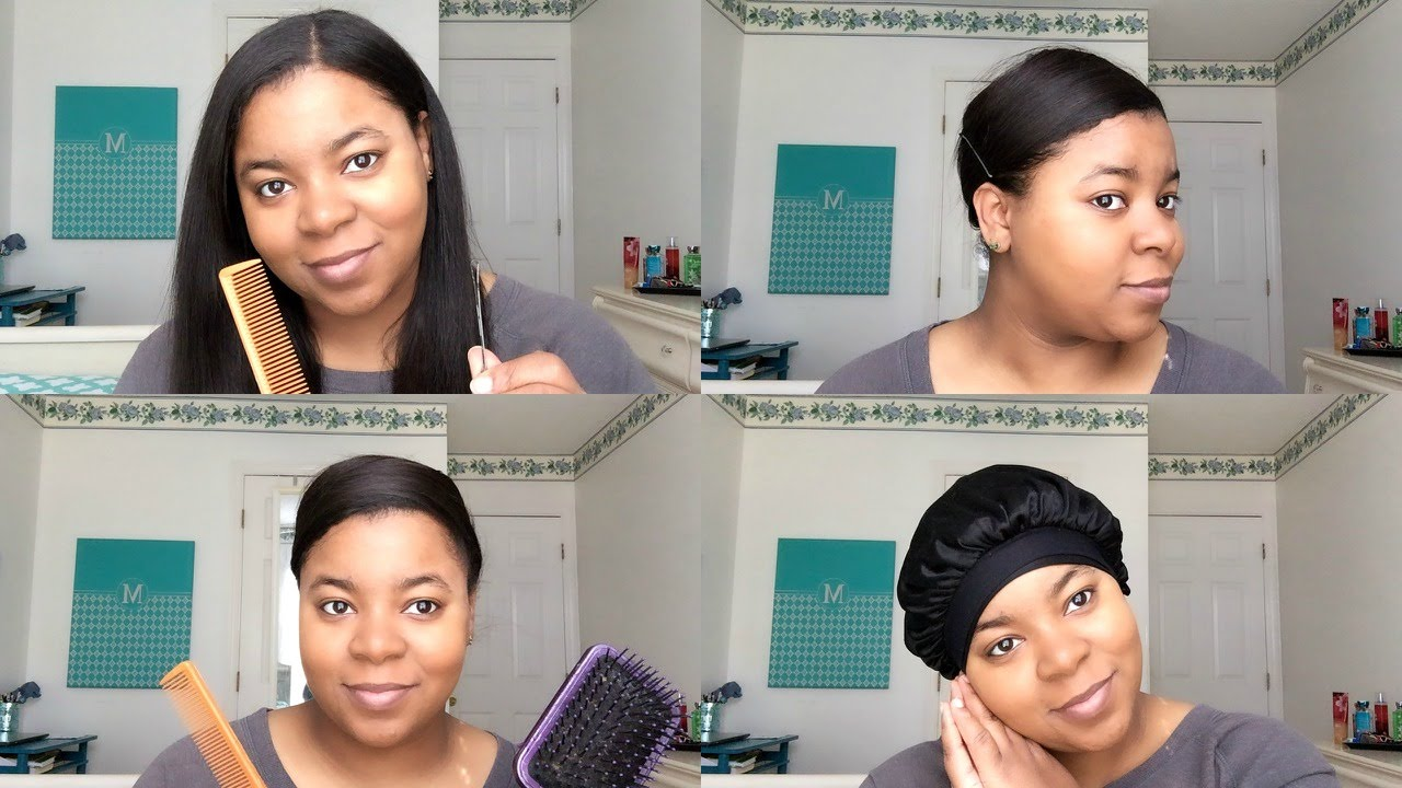 What Is A Silk Press And How To Do One | Ebena hair stylists