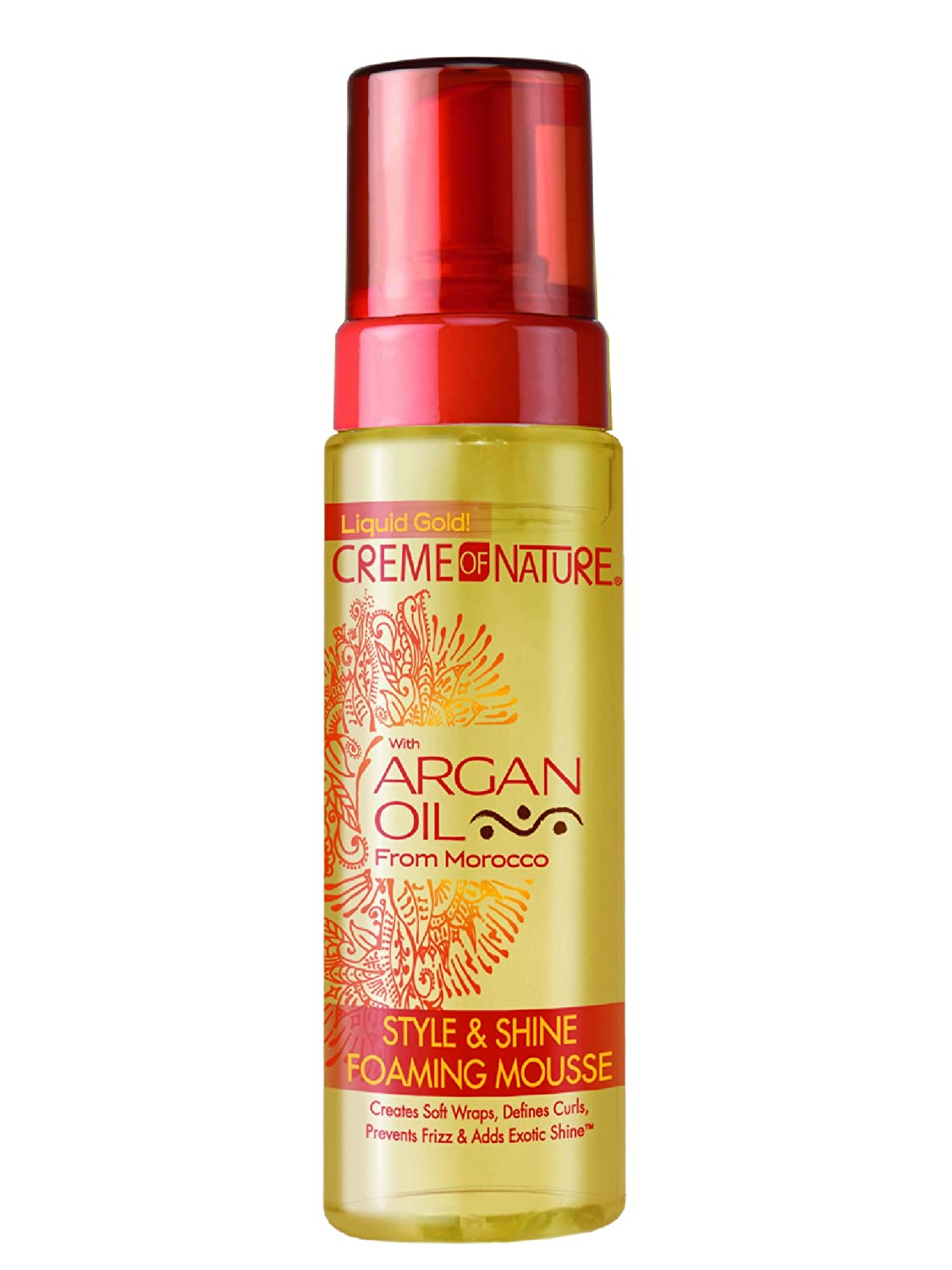 Creme of Nature Argan Oil Style and Shine Foaming Hair Mousse