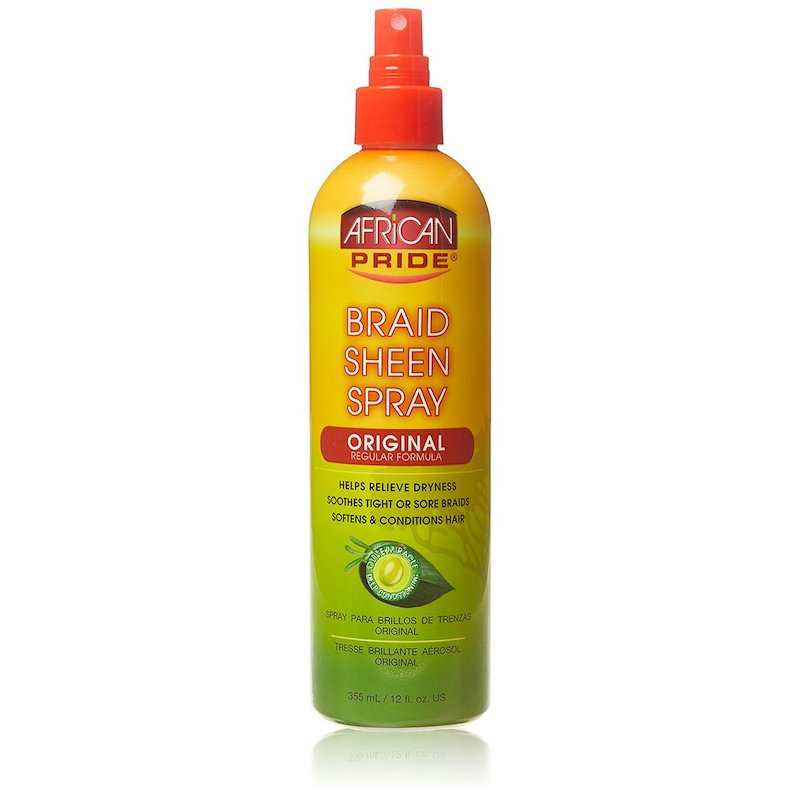 African Pride Braid Sheen Extra Spray