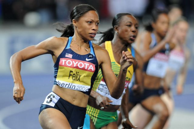 Allyson Felix Iconic African American
