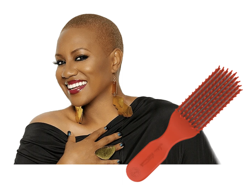 Felicia Leatherwood Detangler Brush