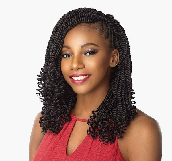 Sensationnel Synthetic Hair Crochet Braids Lulutress 3X Kinky Twist 12