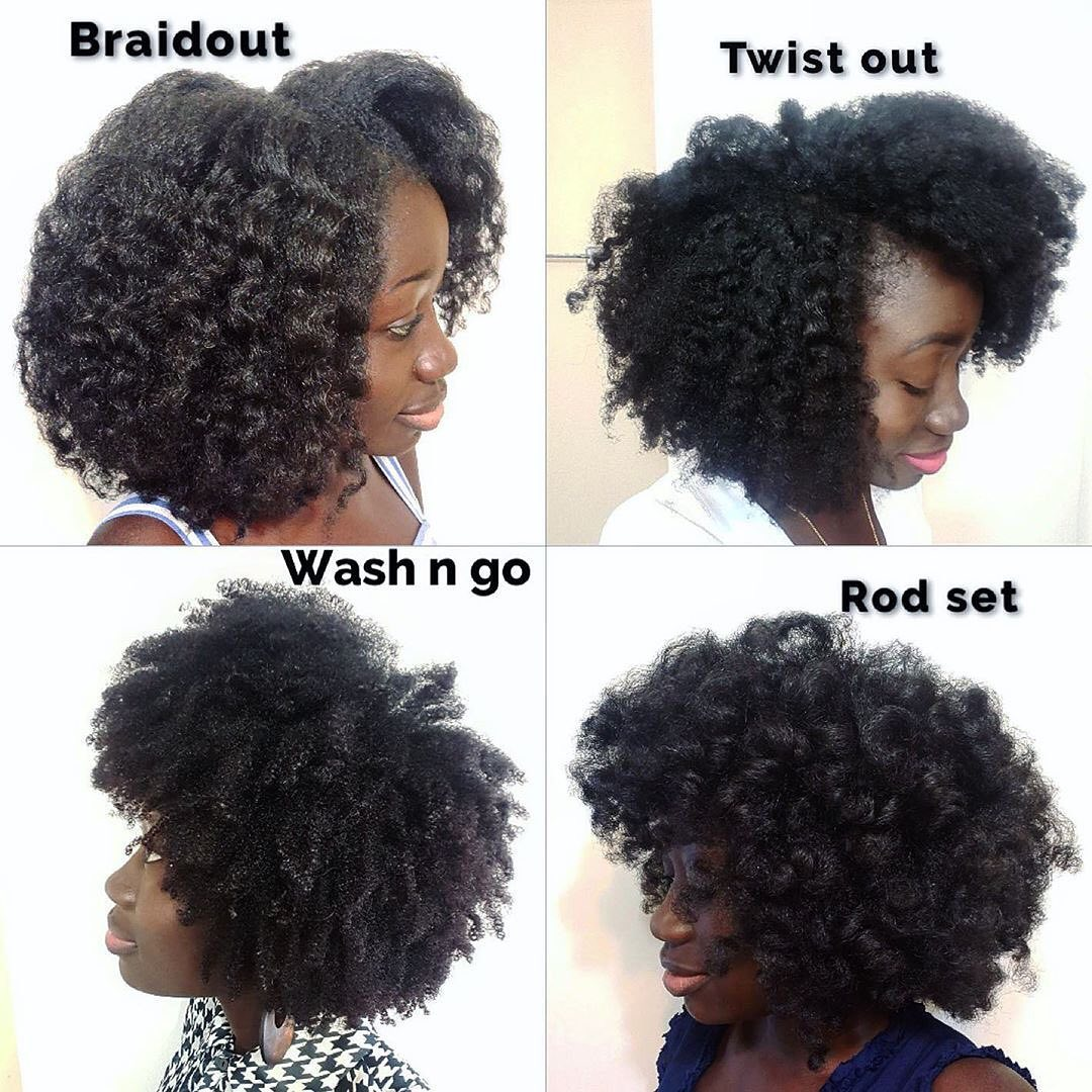 Appropriate natural hairstyles
