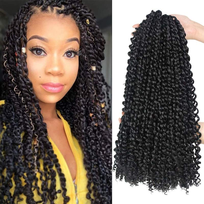 Passion Twist Hair 18 Inch