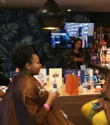 SheaMoisture and Ebena at SXSW