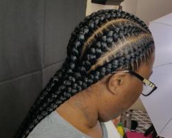 Feed-in braids